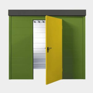 s1 ger tehaus gr n grau und gelb uninorm technic ag. Black Bedroom Furniture Sets. Home Design Ideas