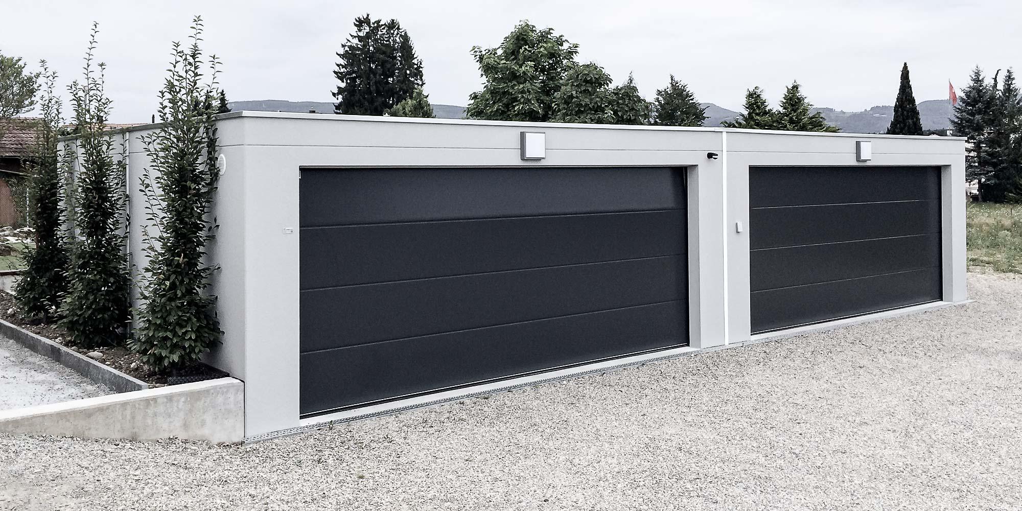 Fertiggarage beton  UNINORM – Fertiggaragen, Carports, Garagentore, Gartenhäuser