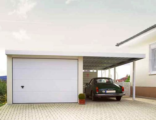 Carport Garagen Kombination