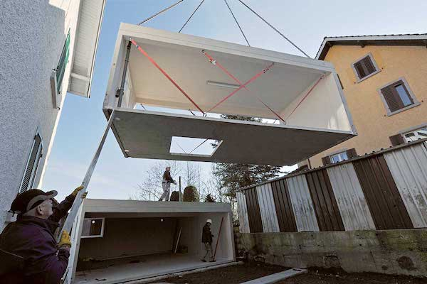 betonGaragen Montage