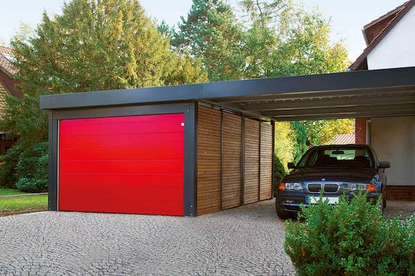 Carport avec garage simple