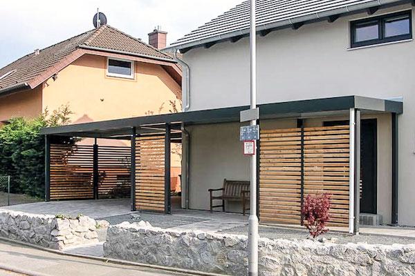 Einhausungen Holz metall