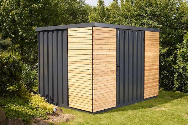 Gardenbox mit Türe