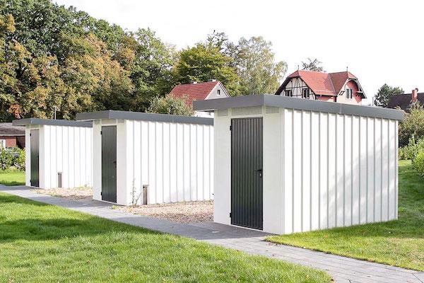 Gerätehaus aus Metall Uninorm