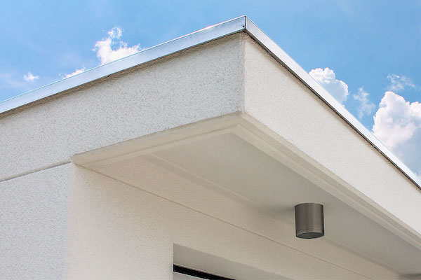 Vordach Unterseite Kassette von Uninorm