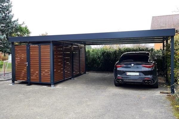 carport mit anbau