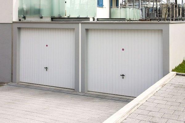 garages en pente