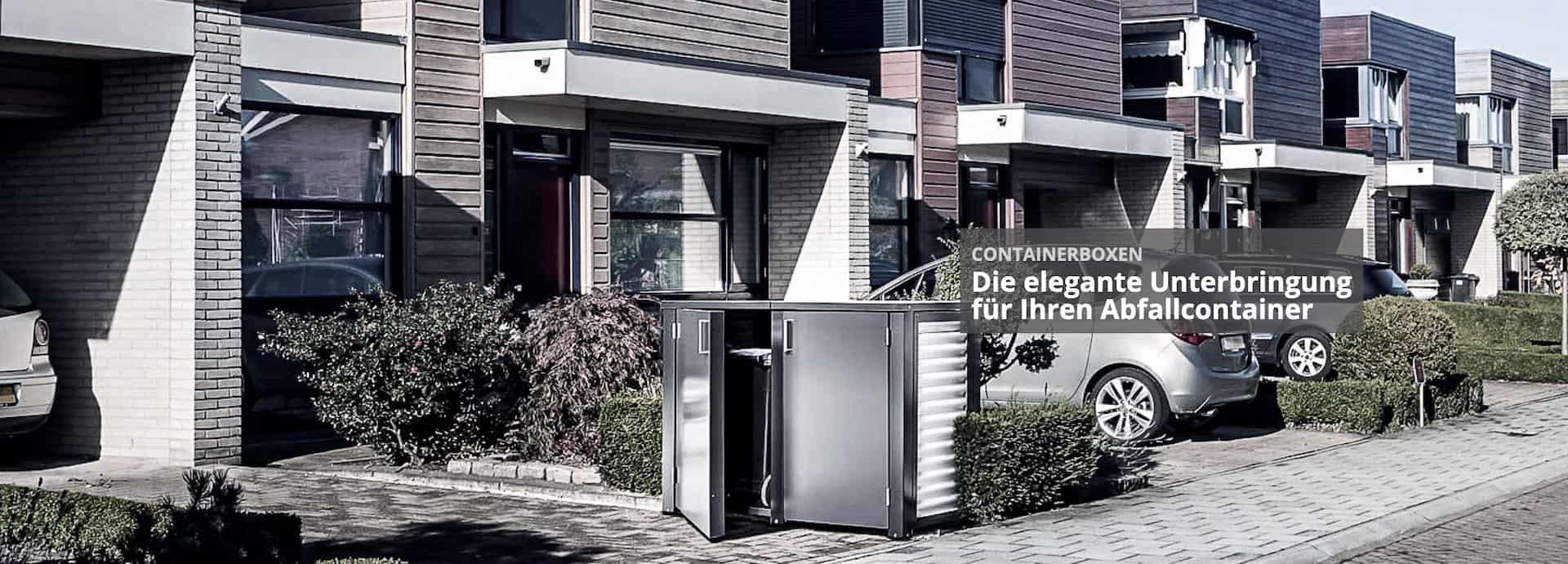 Mülltonnenbox Container 2021
