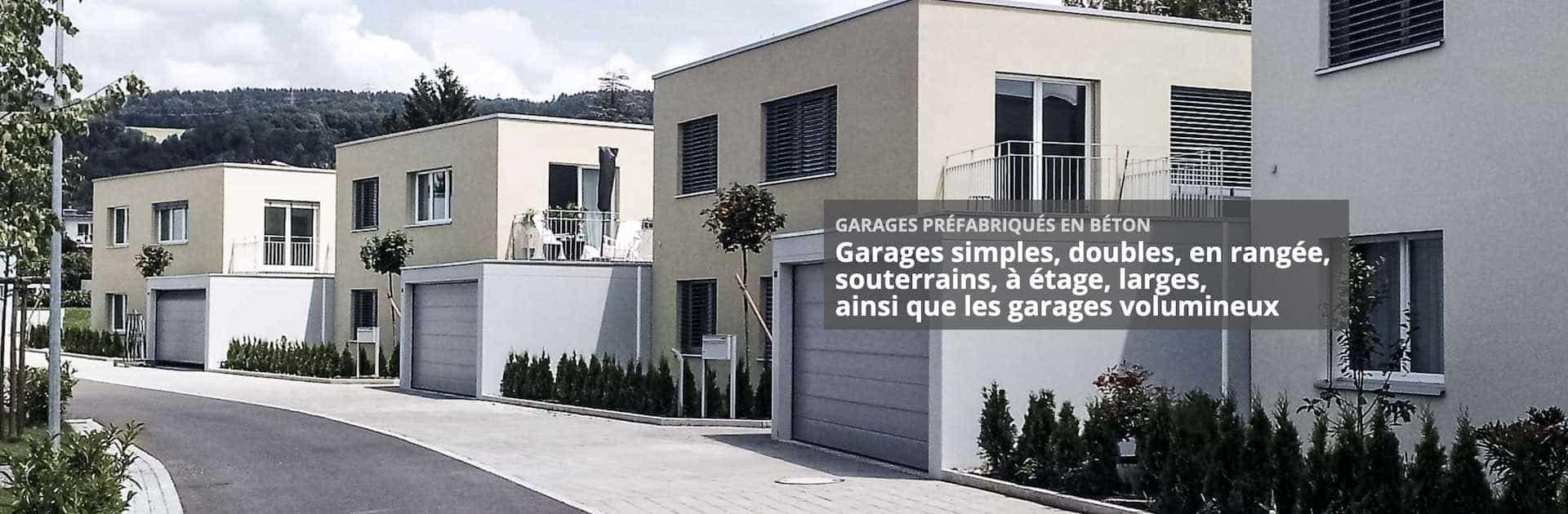 Garages grandes