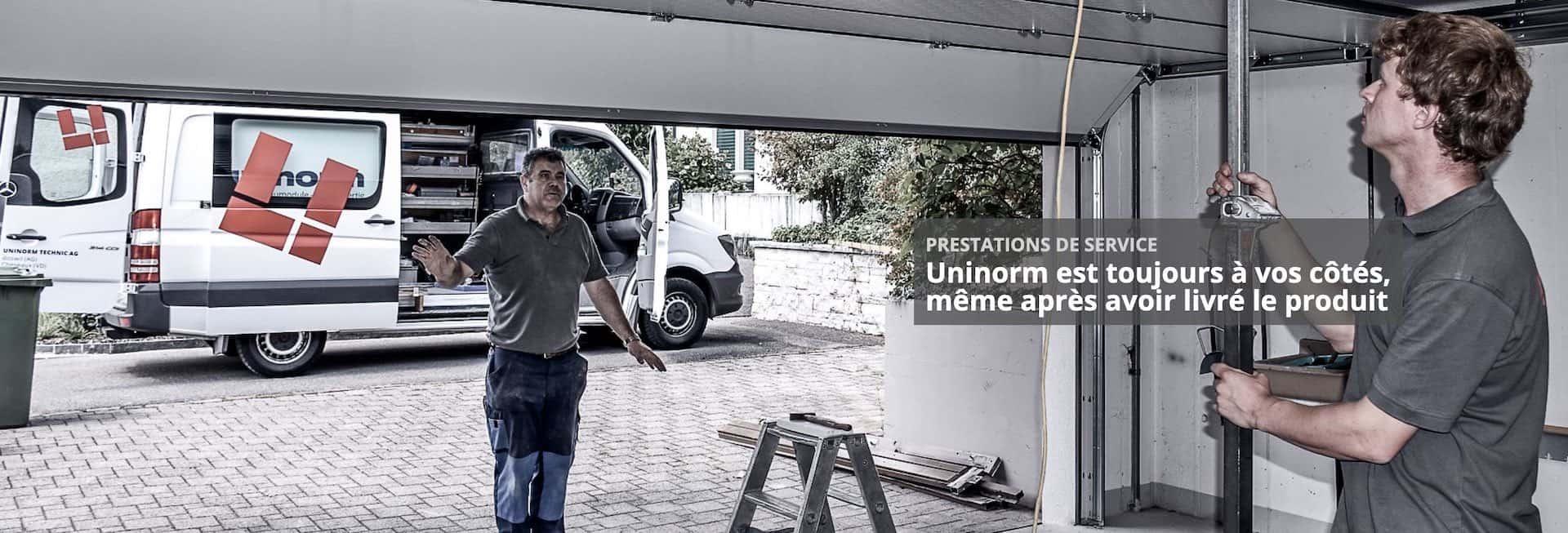 uninorm garage service